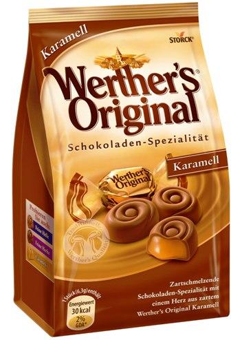 Werthers Original német prémium folyékony karamella desszert 153gr