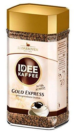 Idee Gold prémium savcsökkentett expressz instant kávé 100gr