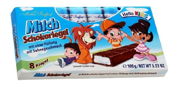Maitre Truffout KIDS Kisfiús tejcsokoládé tejszínes joghurttal töltve 100gr