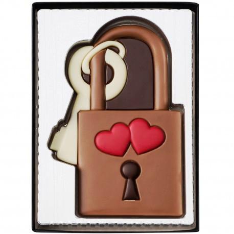 Csokoládékép - Szerelmi lakat 80gr