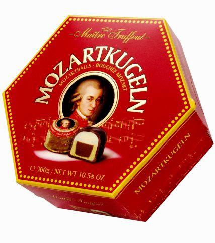 Maitre Truffout Mozart golyó desszert 300gr
