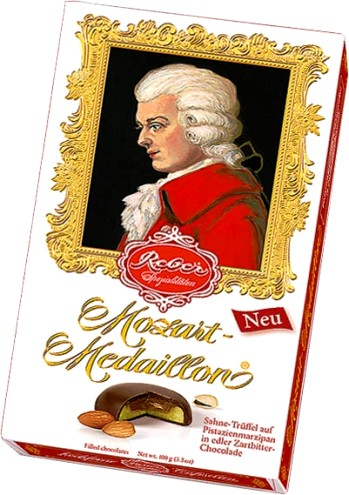 Reber Mozart Medaillon medál desszert 100gr