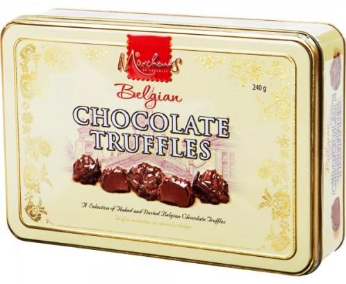 Walkers fémdobozos luxus belga csokoládé trüffel válogatás 240gr