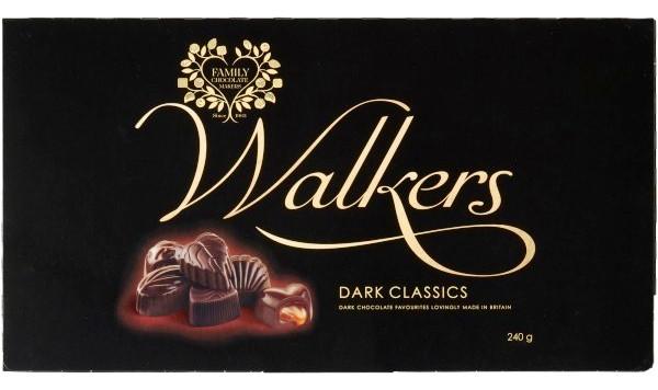 Walkers skót desszert - Étcsokoládé XL szelekció 240gr