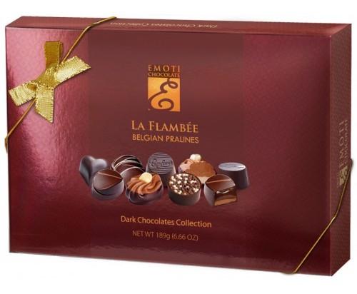 Emoti belga La Flambe étcsokoládé válogatás 189gr