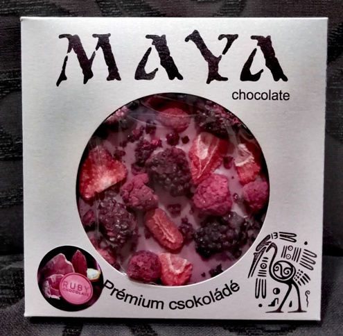 Maya Chocolate RUBY csokoládé - Ruby RED 100gr