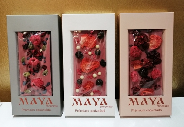 Maya Chocolate RUBY csokoládé - Ruby RED 50gr