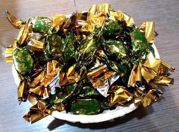 PALEO tej-glutén-cukormentes szaloncukor édesítőszerrel -Zselés