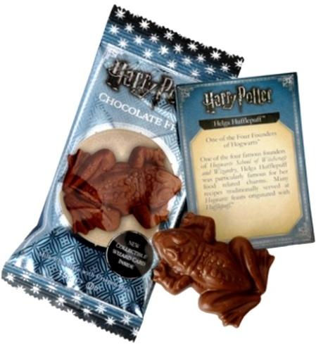 Harry Potter Varázslatos Csokoládébéka varázslókártyával 15gr