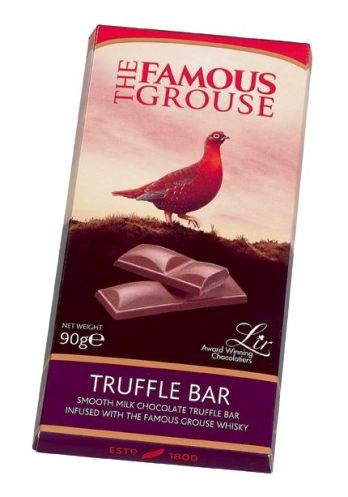 The Famouse Grouse skót whiskys alkoholos tejcsokoládé 90gr