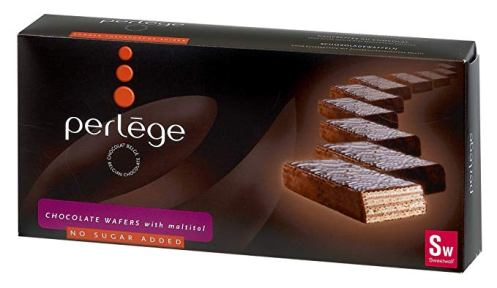 Perlege belga cukormentes csokoládés wafer nápolyi édesítőszerrel 180gr