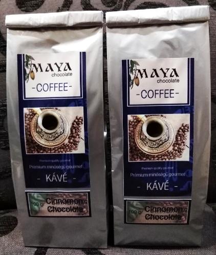 Maya Chocolate ínyenc kávé  - Fahéjas csokoládé 100gr