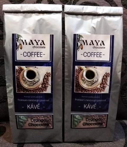 Maya Chocolate ínyenc kávé  - Narancsos csokoládé 100gr
