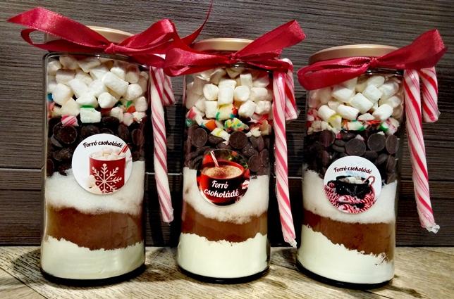 Maya Chocolate Gasztroajándék - Forró Csokoládé Üvegben belga csokoládéval 225gr