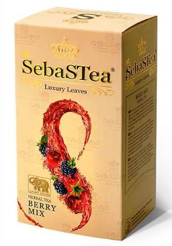 SebasTea filteres teakülönlegesség - Berry mix gyümölcs tea 37,5gr
