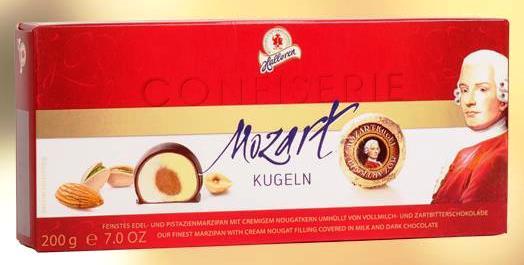 Halloren Confiserie - Mozart golyó desszert 200gr