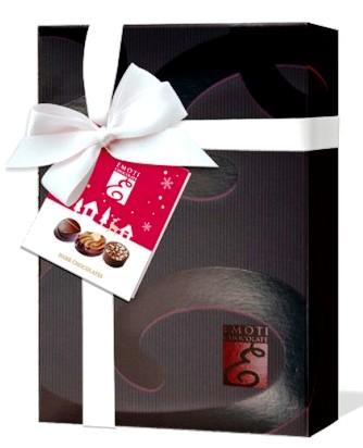Emoti belga La Palette étcsokoládé válogatás barna desszert 116gr