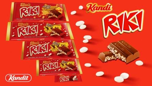 Kandit Riki rizses tejcsokoládé 100gr