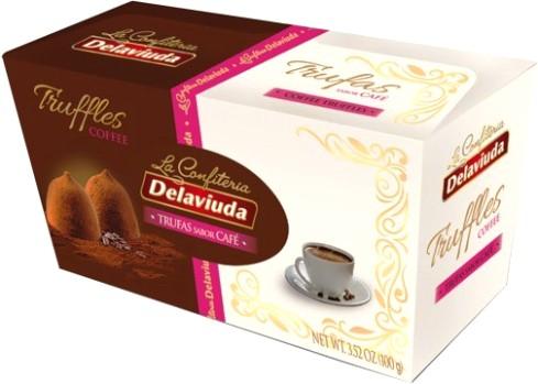 Delaviuda spanyol trüffel - Kávés trüffel 100gr
