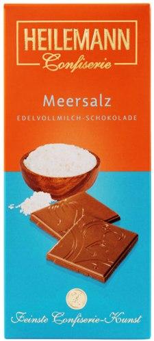 Heilemann csokoládécsalád - Tengeri sós tejcsokoládé 80gr