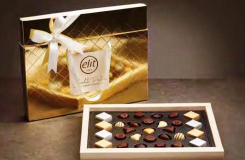 Elit díszdobozos GOLD luxus desszert 350gr