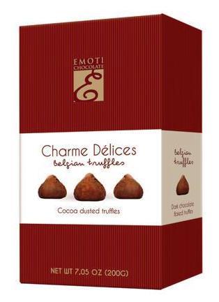 Emoti Charme Delices belga trüffel desszert 200gr