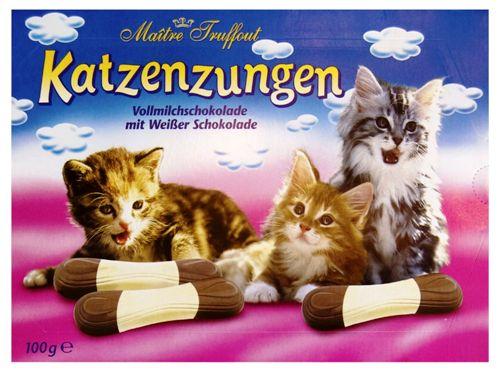 Maitre Truffout tej és fehér csokoládé macskanyelv 100gr