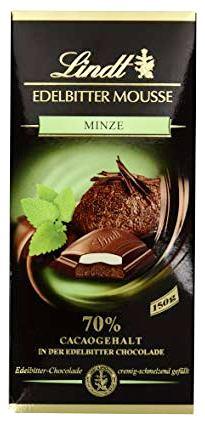 Lindt XXL Creation töltött 70% étcsokoládé - Menta 150gr