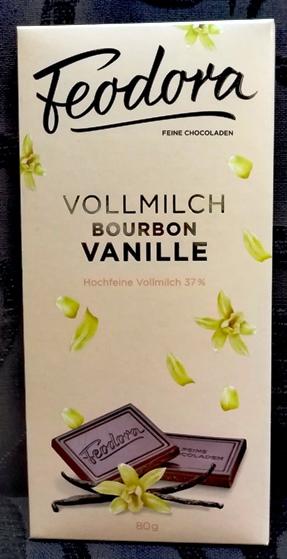 Feodora Hachez Sweet Dreams csokoládécsalád - Mennyei Bourbon vaníliás tejcsokoládé 80gr