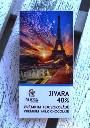 Maya Chocolate Ősi sorozat - Jivara 40% francia különleges tejcsokoládé 50gr