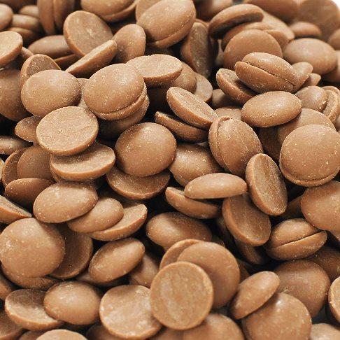 Kimért tejmentes és gluténmentes vegán fehércsokoládé pasztilla