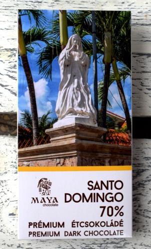 Maya Chocolate Ősi sorozat - Santo Domingo 70%-os területszelektált étcsokoládé 50gr