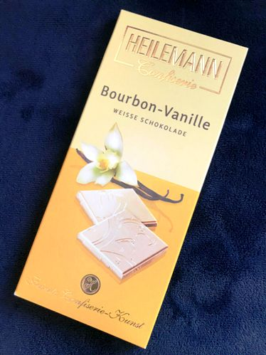 Heilemann csokoládécsalád - Bourbon vaníliás fehércsokoládé 80gr