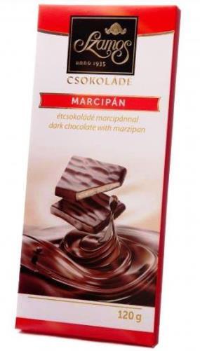 Szamos táblás csokoládécsalád - Marcipános töltött étcsokoládé 100gr