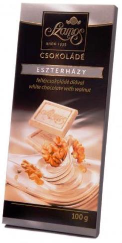 Szamos táblás csokoládécsalád - Eszterházy 100gr