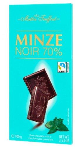 Maitre Truffout mentás 70%-os étcsokoládé 100gr