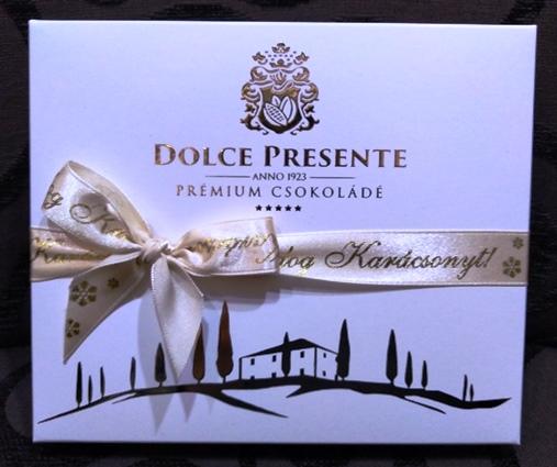 Dolce Presente Ünnepi karácsonyi díszdobozos desszert 120gr