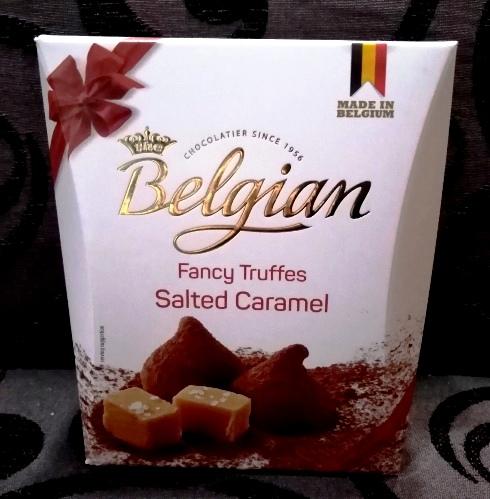 Belgian limitált belga trüffel - Sós karamell 200gr