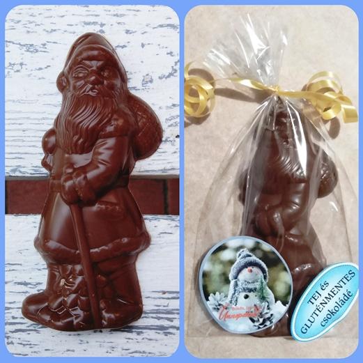 Maya Chocolate vegán tejmentes és gluténmentes Télapó 30gr