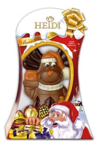 Heidi ünnepi karácsonyi csokoládé figura  - Édes rénszarvas 70gr